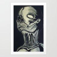 Phantom of the Undead Art Print