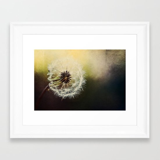 Grungy Wisher Framed Art Print