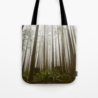 Rainforest of the Pacific Northwest Tote Bag