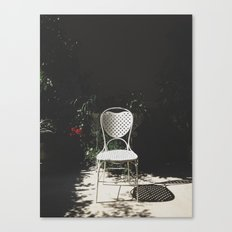 Sit and enjoy Canvas Print