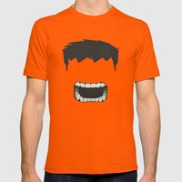 Hulk Mens Fitted Tee Orange SMALL