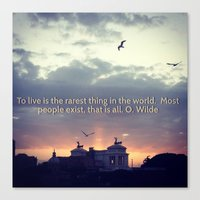 Quote of the Day 2 Canvas Print