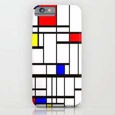Mondrian inspired Slim Case iPhone 6s