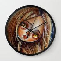 Little Red Head Wall Clock