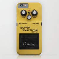 iPhone Cases featuring Super OverDrive by Diego Tirigall