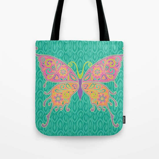 Butterflies Are Free To Fly... Tote Bag