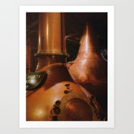 Copper And Whiskey Art Print