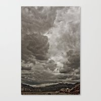 PEACEFUL FRUSTRATION Canvas Print