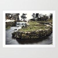 Converge & The Falls Art Print