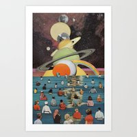 Children Of The Sun And … Art Print