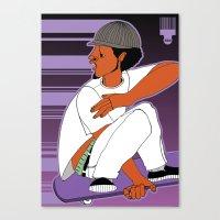 1001 Black Men--#504 Canvas Print