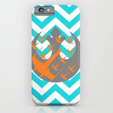 Wraith Squadron and Chevrons in Blue, Gray and Orange Slim Case iPhone 6s