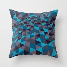 Triangulation (Inverted) Throw Pillow