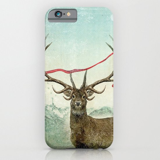 hold deer, tsunami iPhone & iPod Case