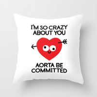 Dement To Be Throw Pillow