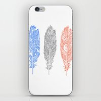 Patterned Plumes iPhone & iPod Skin