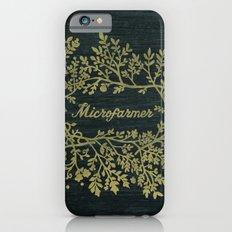 Microfarmer - Gold iPhone 6s Slim Case