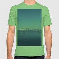Mt Rose And Slide Mt Mens Fitted Tee Grass SMALL