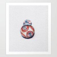 BB8 Art Print