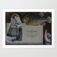 ATHENES Art Print
