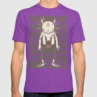 THUMBS UP YOUR LIFE Mens Fitted Tee Ultraviolet SMALL