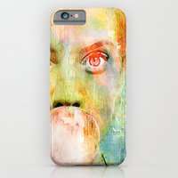 iPhone & iPod Case featuring bubble gum  girl by Ganech joe