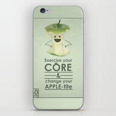 apple-tite iPhone & iPod Skin