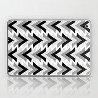 My grey triangles Laptop & iPad Skin