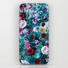 RPE FLORAL OCEAN iPhone & iPod Skin