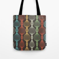 Geo Bulbs Tote Bag