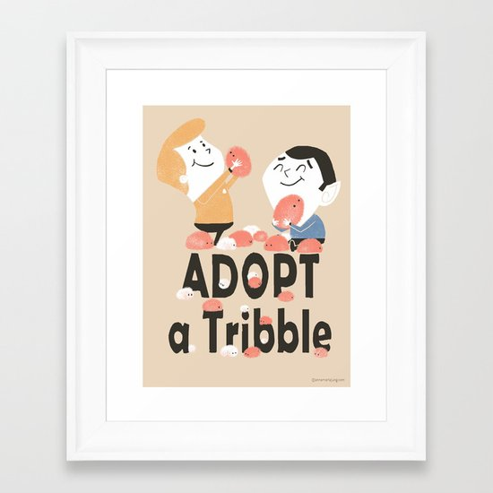 Adopt a Tribble Framed Art Print
