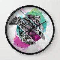 Le Tigre Wall Clock