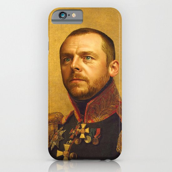 Simon Pegg - replaceface iPhone & iPod Case