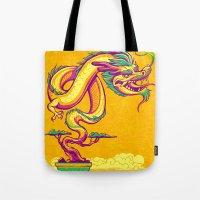 Bonsai Dragon Tote Bag