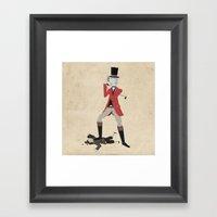 Sir Snobbery Framed Art Print