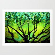 Glass Tree Art Print