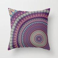 Mandala 136 Throw Pillow