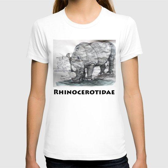 Rhinocerotidae T-shirt