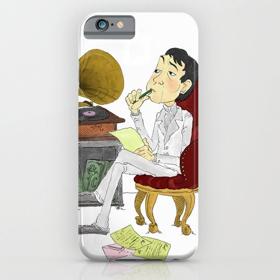 """Kisses on the Bottom"" by Virginia McCarthy iPhone & iPod Case"