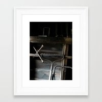 tools Framed Art Print