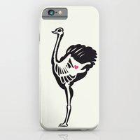 iPhone & iPod Case featuring Ostrich - Animal Series by Alexis Chong