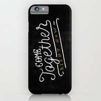 iPhone & iPod Case featuring Come Together by Koning
