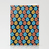 Colour Shells Pattern Stationery Cards