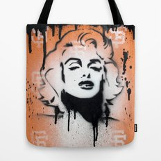 SF Giants x Marilyn Monroe by Adam Valentino  Tote Bag