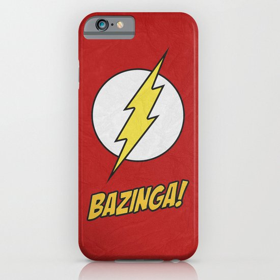 Bazinga! Poster 01 iPhone & iPod Case