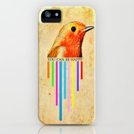You Can Be Happy iPhone (5, 5s) Slim Case