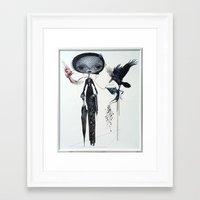 gothic kebaya Framed Art Print