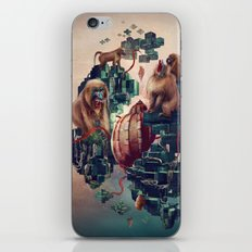 monkey temple iPhone & iPod Skin