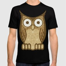 Owl Always Love You Black Mens Fitted Tee SMALL