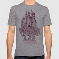 Castle in the Trees Mens Fitted Tee Athletic Grey SMALL